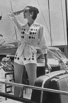 British Vogue,1959  photo by Norman Parkinson