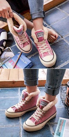 22 Cute Shoes That Will Inspire You This Winter – Women Shoes Trends 22 Cute Shoes That Will Inspire You This Winter – Women Shoes Trends,Converse 22 Cute Shoes That Will Inspire You This. Cute Shoes, Me Too Shoes, Snow Sneakers, Zapatillas Casual, Estilo Rock, Mode Outfits, Crazy Shoes, Shoe Boots, Winter Fashion