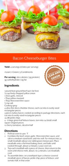 Bacon cheeseburger bites Pie Recipes,Bacon Wrapped,Japanese Recipes, Canadian Re… - My Recipe Notebook Medifast Recipes, Low Carb Recipes, Cooking Recipes, Pie Recipes, Vegan Recipes, Chicken Recipes, Snack Recipes, Hamburger Recipes, Pasta Recipes