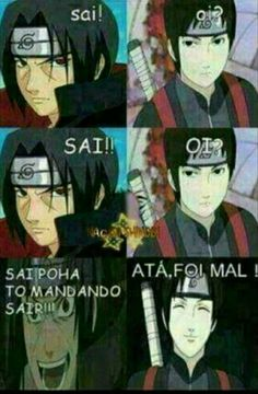 Page 3 Read Memes ( De Novo ) from the story Fotos Dos Personagens De Naruto by Julia---ackerman (Júlia Rayssa) with reads. Anime Naruto, Sasunaru, Naruto Vs Sasuke, Naruto Cute, Naruto Shippuden Sasuke, Madara Uchiha, Kakashi Anbu, Otaku Anime, Anime Meme
