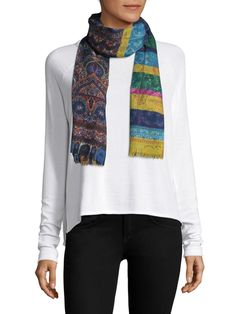 Etro Multi-Striped Scarf