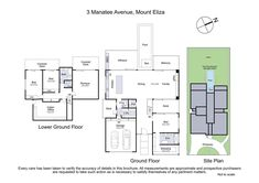 3 Manatee Avenue, Mount Eliza VIC 3930 | Domain Home Insurance Quotes, House Viewing, 4 Bedroom House, Home Inspection, Manatee, Built In Wardrobe, Property For Sale, House Plans, Floor Plans