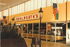 >The Woolworth store I use to ride the bus to when I was young! They had the old soda bar!