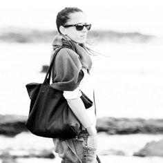 MIA Shoulder bag. Made of very very soft Italian leather. www.genuinemyself.com