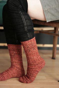 Porifera Socks from Twist & Knit