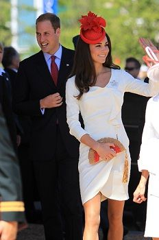 Kate Middleton and Prince Williams at the Cartier Polo