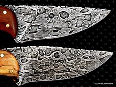 Damascus Steel from chainsaw chain