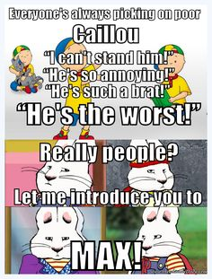 Caillou And Memes On Pinterest