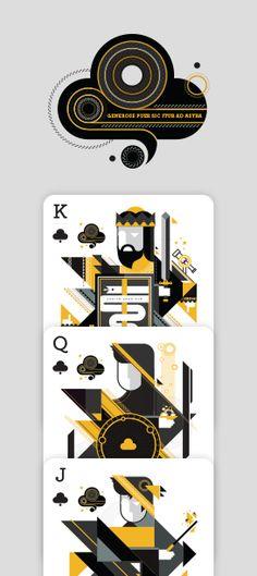 Elemental Deck of Cards - Air