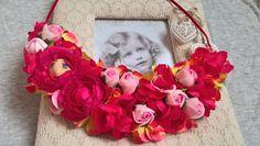 flower  necklake DIY