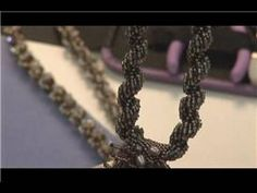 Video: How to Make Spiral Beaded Necklaces including tips and inspiration - #Seed #Bead #Tutorials