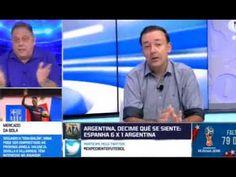 ARGENTINA HUMILHADA na Espanha sem Messi com dois gols de brasileiros 27...