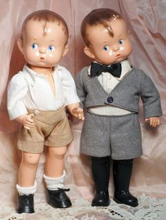 """~ Composition """"Skippy"""" Dolls By Effanbee ~"""