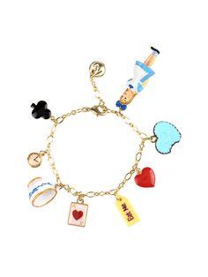 #n2-by-lesnereides #paris #spring-summer-14 #jewelry #french-designer #handmade #unique #bracelet #charms #alice #alice-in-wonderland #wonderland #rabbit  #tea-time #fairytale #childhood #Shop on #www.lesnereides-usa.com
