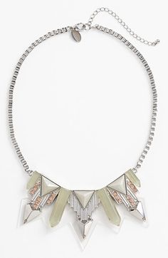 Spring Street 'Fortress' Bib Necklace available at #Nordstrom