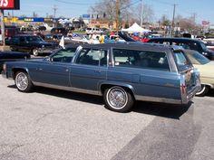 It's a ... Cadillac station wagon?