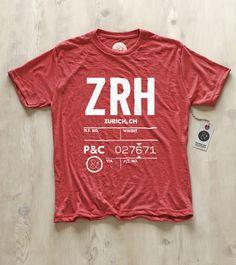 Airport code shirts