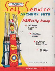 Withington self-service archery set