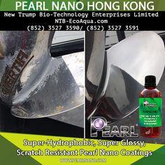Pearl Tornado works miracles on an old battered boat propeller. Pearl HD Nano coating was going on next. Pearl Nano Coatings - Super Hydrophobic Nano Coatings For Auto IN HONG KONG. New Trump Bio-Technology Enterprises Limited NTB-EcoAqua.com  (852) 3527 3590/ (852) 3527 3591   #superhydrophobic #nanocoatings #ceramic #scratchresistant  #nonsolvent #pearlnanoinstaller #HONGKONG