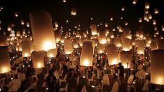 Wedding Send Off, Wedding Exits, Wedding Shoot, Our Wedding, Dream Wedding, Wedding Night, Floating Lanterns Wedding, Floating Lantern Festival, Floating Lights