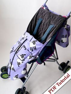 I design this buggy bag for my little one, and I like the shape, because it is not a big massive bag; it is cozy, it is just the right size and it