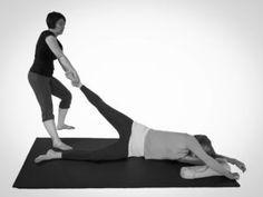 Thai Yoga Massage Single Leg Flip