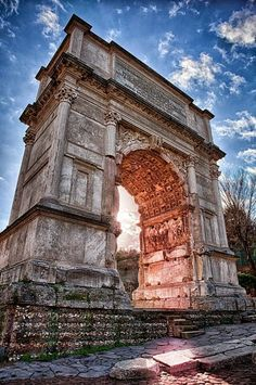 Arch of Titus, Rome, Italy: