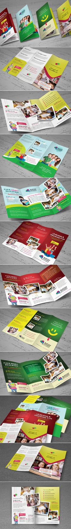 Junior School Trifold & Bifold Brochures Professional business brochure designs #brochuredesign #premiumbrochures #professionalbrochure #corporatebrochures #businessbrochures