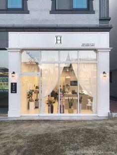 Facade Design, Exterior Design, Architecture Design, Design Design, Spa Interior, Salon Interior Design, Retail Facade, Storefront Signs, Boutique Decor