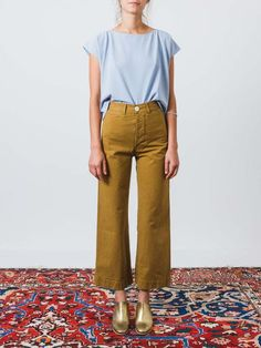 I know Stitch Fix doesn't carry Kamm pants (which I love), but maybe a shirt like this? Really like the cut.