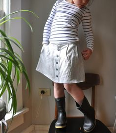 elsie marley's ayasha skirt pattern by Figgys