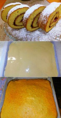 Baking Recipes, Healthy Recipes, Sweet Bakery, Polish Recipes, Homemade Cakes, No Bake Cake, Food And Drink, Yummy Food, Sweets