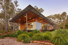 The bush house, Archterra Architects, Margaret River, Australië - The Bush House - Wonen voor Mannen