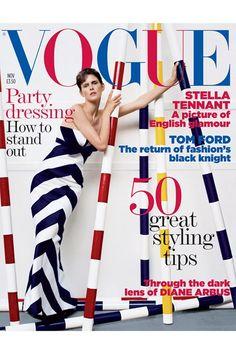 British Vogue November 2005 - Stella Tennant