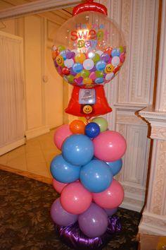 gumball machine balloon