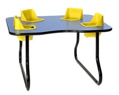 Space Saver Toddler Table with 4 Seats