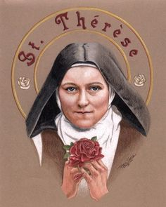 """""""And it is the Lord, it is Jesus, Who is my judge. Therefore I will try always to think leniently of others, that He may judge me leniently, or rather not at all, since He says: """"Judge not, and ye shall not be judged."""" ~St. Thérèse of Lisieux~."""