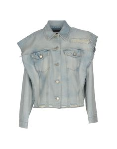 Mm6 Maison Margiela Denim Jacket - Women Mm6 Maison Margiela Denim Jackets online on YOOX United States - 42625360OS
