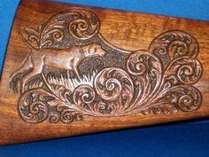Custom Gunstock Carvings Patterns