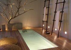 beautiful home hot tub