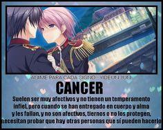 Resultado de imagen para cancer zodiaco anime