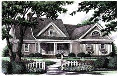Split Bedroom Country Home Plan - 32497WP | 1st Floor Master Suite, Bonus Room, Corner Lot, Country, Media-Game-Home Theater, PDF, Split Bedrooms, Traditional | Architectural Designs