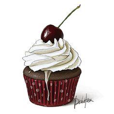 Cherry Cupcake $5