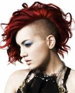 peinados-para-pelo-corto-rapado-punk