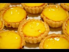 Puff pastry egg tarts, 酥皮蛋撻j You must follow all her technique to get flaky egg tart Macao style