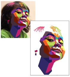How to Create a Geometric, WPAP Vector Portrait in Adobe Illustrator - Tuts+ Des. - How to Create a Geometric, WPAP Vector Portrait in Adobe Illustrator – Tuts+ Design & Illustratio - Pop Art Portraits, Creative Portraits, Dslr Photography Tips, Portrait Photography, Graphic Design Illustration, Digital Illustration, Photoshop, Vector Portrait, Art Design