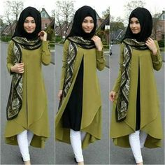 Swans Style is the top online fashion store for women. Islamic Fashion, Muslim Fashion, Modest Fashion, Fashion Dresses, Hijab Style, Hijab Chic, Hijab Look, Modest Dresses, Stylish Dresses