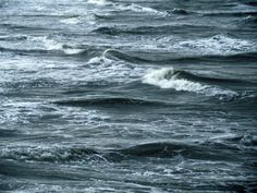 The Waves  (from the pier of Dieppe harbor)