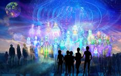 New Age, Gaia, The Pleiades, Fear Of The Unknown, Saint Esprit, Ascended Masters, Rainbow Light, New Earth, Visionary Art