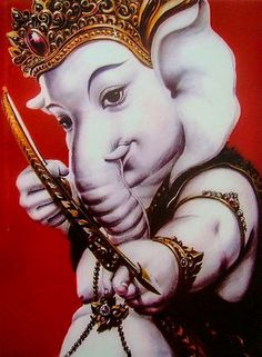 Krishna Hindu, Shree Ganesh, Shiva Shakti, Hindu Deities, Hinduism, Hanuman, Shri Ganesh Images, Ganesha Pictures, Lord Ganesha Paintings